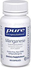 Pure Manganese Aspartate-Citrate / Марганец аспартат-цитрат 60 капс