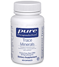 Pure Trace Minerals / Микроэлементы 60 капс
