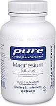 Pure Magnesium citrate / Магний Цитрат  90 капс