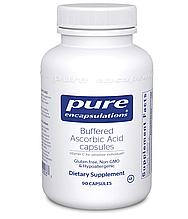 Pure Vitamin C  Buffered Ascorbic Acid / Буфферизированный витамин С 90 капс