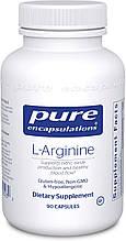 Pure L-Arginine / Л-Аргинин 90 капсул