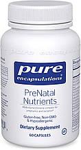 Pure PreNatal Nutrients / Питательные вещества для беременных 60 капс