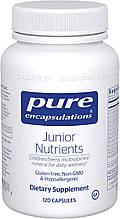 Pure Junior Nutrients / Витамины для детей 120 капс