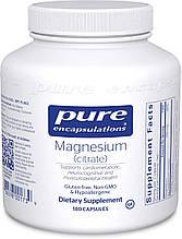 Pure Magnesium citrate / Магний Цитрат 180 капс
