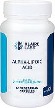 Klaire Alpha-lipoic acid / Альфа-липоевая кислота 150мг 60
