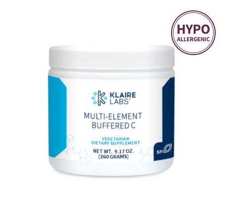 Klaire Labs Multi-Element Buffered C / Буфферизированный вітамін С 260 гр