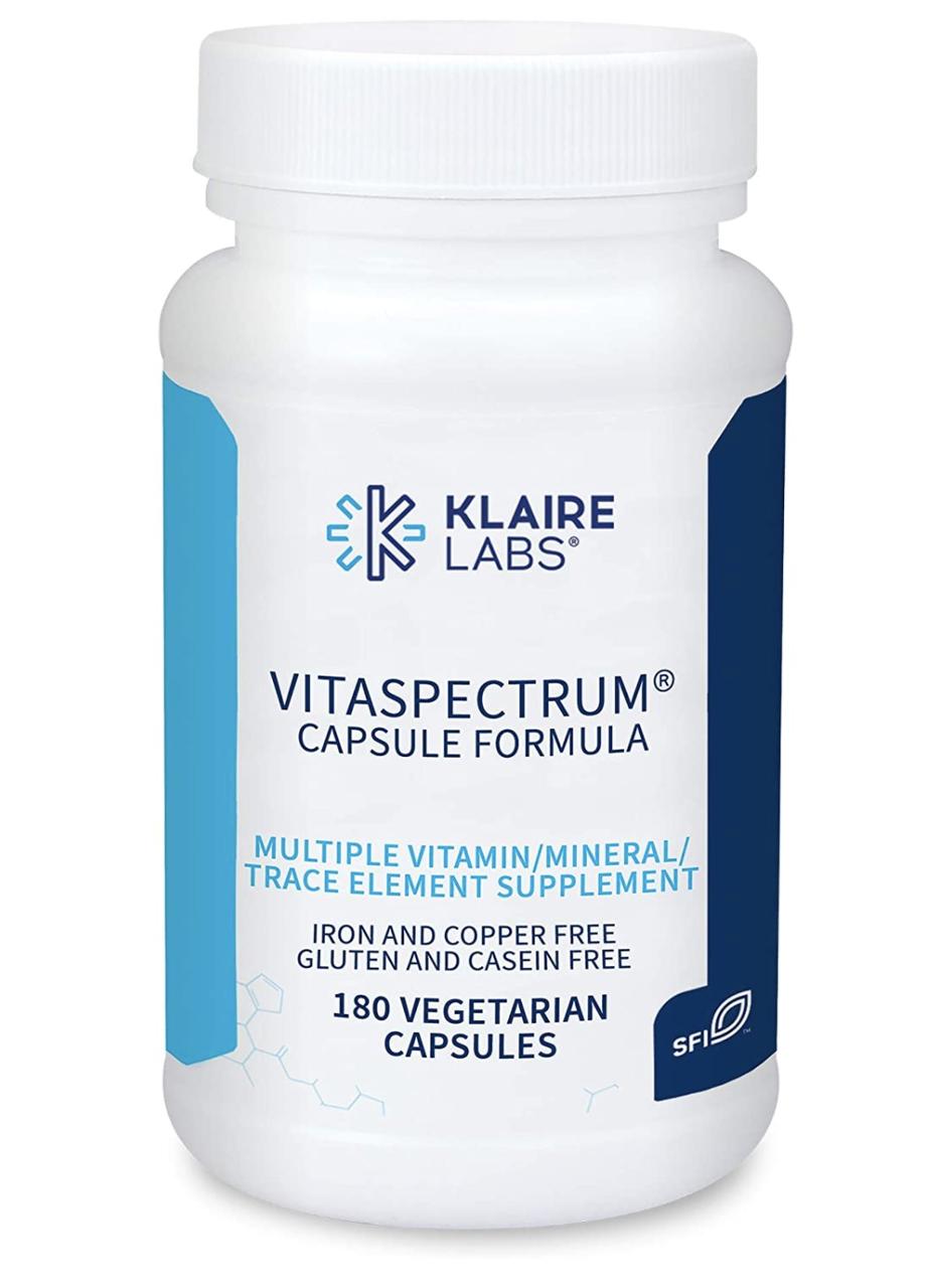 ВитаСпектрум, VitaSpectrum, Klaire Labs, 180 Капсул Вегетаріанських