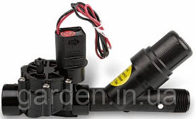 """Комплект XCZ-100-PRF: ЭМК 100-DV +1"""" фильтр. Капельный полив Rain Bird"""