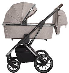 Детская коляска универсальная 3 в 1 Carrello Aurora CRL-6502 Almond Beige (Каррелло)
