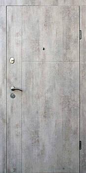 Вхідні двері Форт серія Стандарт модель Еста 2050*960 (ліва)