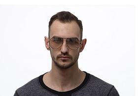Модні сонячні окуляри крапельки від сонця авіатори чоловічі з поляризацією та металевою оправою