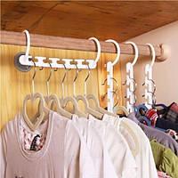 Вешалка универсальная складная для економии места в шкафу Wonder Hangers Органайзер вешалка для одежды ФОТО