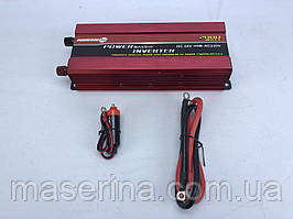 Инвертор PowerOne Plus 12V-220V 2000W + USB/LED (SSB-2000W)