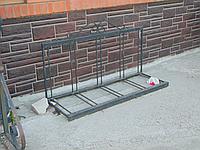 Велостоянка кована з куточка на 5 місць