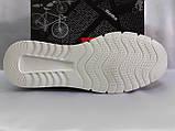 Комфортные летние кроссовки серые из нубука Detta, фото 9