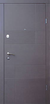 Вхідні двері Форт серія Стандарт модель Каліфорнія 2050*960 (ліве)