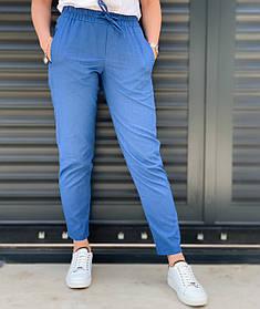 Жіночі лляні штани 4 кольори 26-76