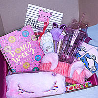 "Подарочный бокс для девочки Wow Boxes ""Cat box №1"""