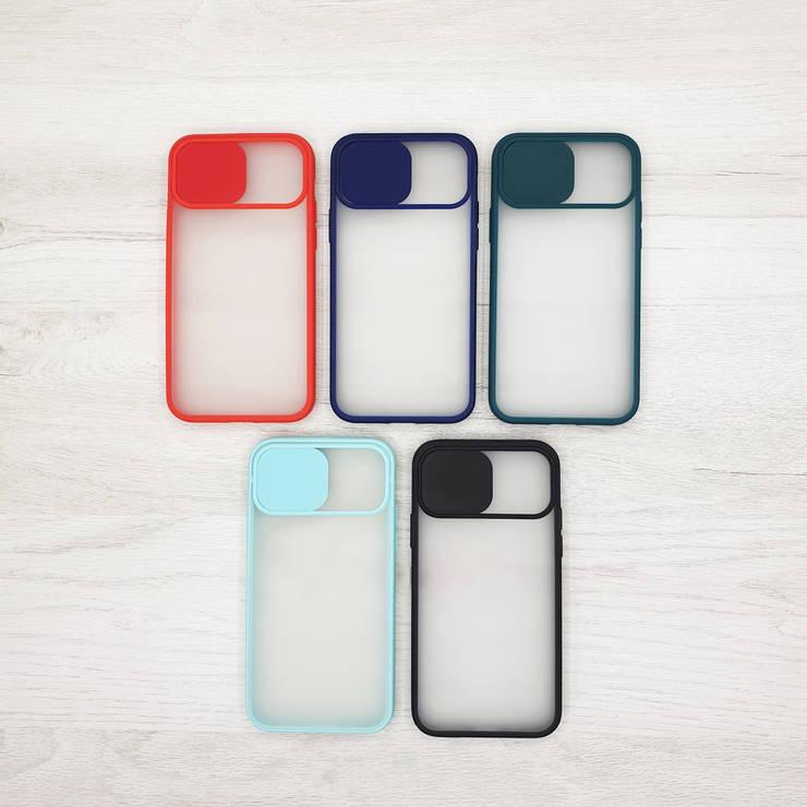 Чехол CASE для Apple iPhone 11 / 11Pro / 11ProMax (шторка на камеру) color, фото 2