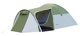 Палатка 4-х местная Presto Acamper MONSUN 4 PRO зеленый - 3500мм. H2О - 4,1 кг.