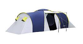 Палатка 6-ти местная Presto Acamper NADIR 6 PRO синяя - 3500мм. H2О - 8,7 кг.