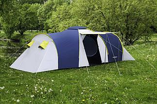 Палатка 6-ти местная Presto Acamper NADIR 6 PRO синяя - 3500мм. H2О - 8,7 кг., фото 3