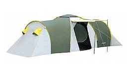 Палатка 6-ти местная Presto Acamper NADIR 6 PRO зеленый - 3500мм. Н2О - 8,7 кг