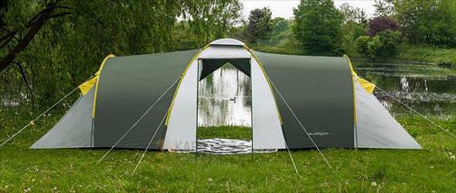 Палатка 6-ти местная Presto Acamper NADIR 6 PRO зеленый - 3500мм. Н2О - 8,7 кг, фото 2