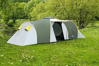 Палатка 6-ти местная Presto Acamper NADIR 6 PRO зеленый - 3500мм. Н2О - 8,7 кг, фото 3