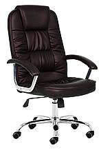 Кресло офисное NEO9947 темно коричневый