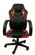 Кресло офисное компьютерное 7F RACER EVO, красное, фото 2