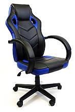 Крісло офісне комп'ютерній ютерне 7F RACER EVO, синє