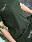 Женский костюм батал, турецкий кулир, р-р 48-50; 52-54 (хаки), фото 2