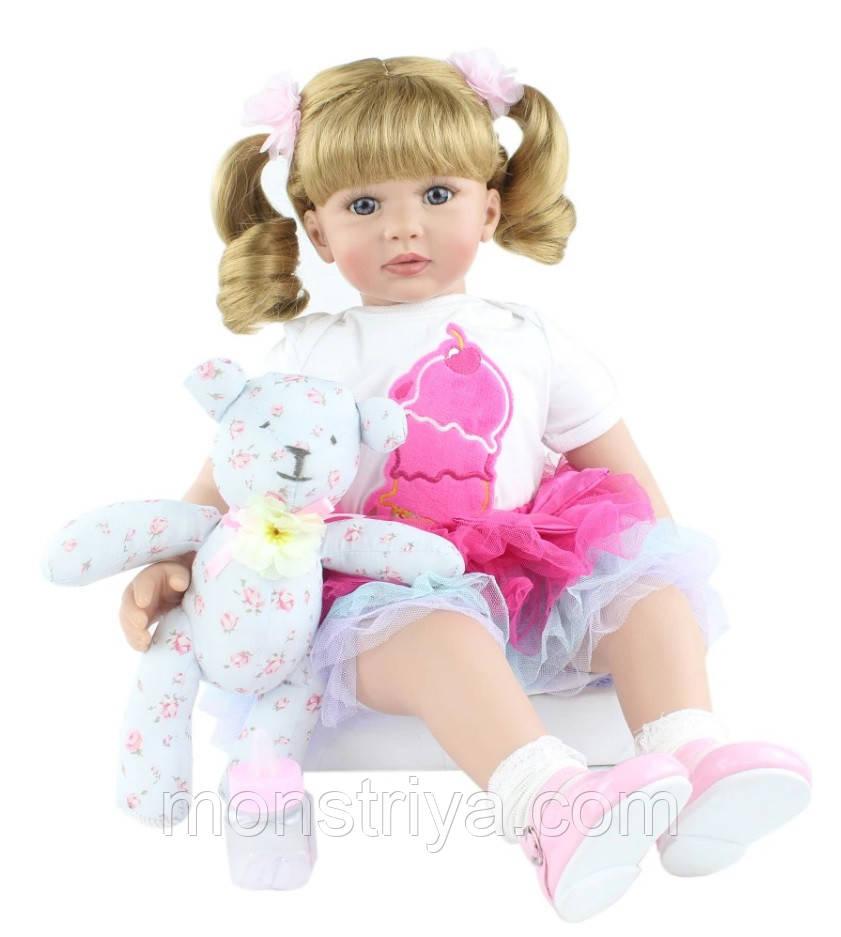 Кукла реборн ,девочка, 60 см