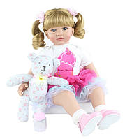 Кукла реборн ,девочка, 60 см, фото 1