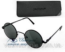 """Сонцезахисні окуляри """"круглі"""" (СКЛО!) Код:7204"""