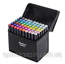 Набір скетч-маркерів 60 шт. для малювання двосторонніх Touch sketchmarker (TOUCH60-BL)