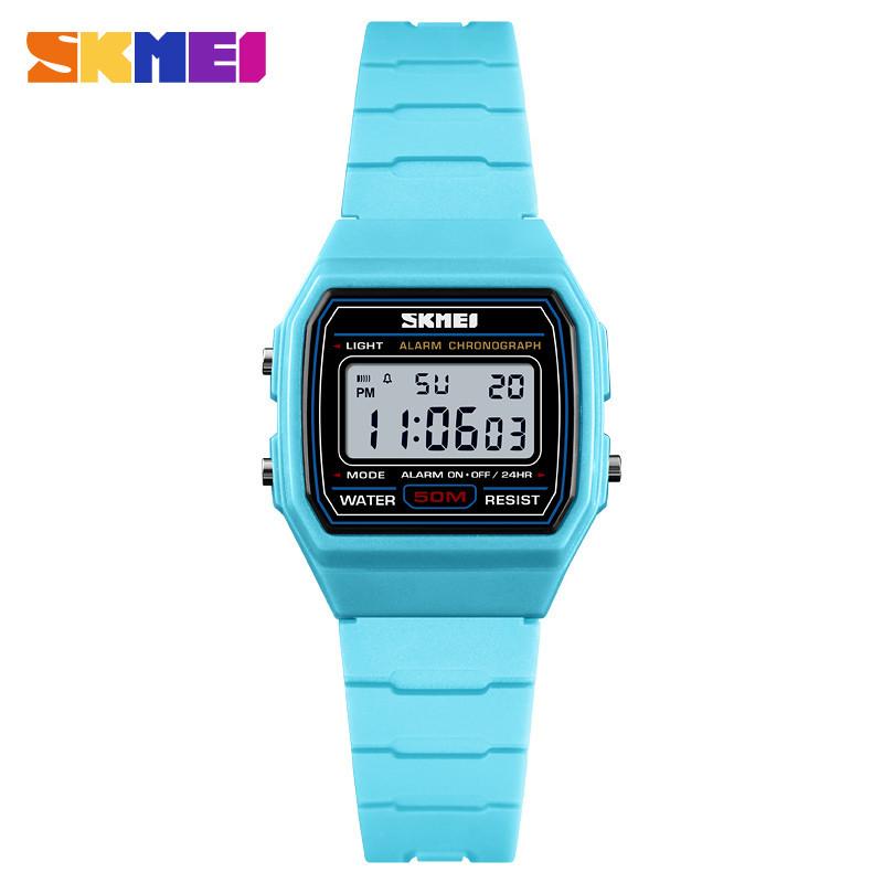 SKMEI 1460 голубые детские спортивные часы