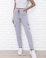 Спортивні штани ISSA PLUS 9980 XL світло-сірий
