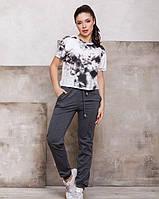 Спортивні штани ISSA PLUS 12400 S темно-сірий