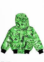 Куртки ISSA PLUS CD-155 18 місяців (82-88р) зелений