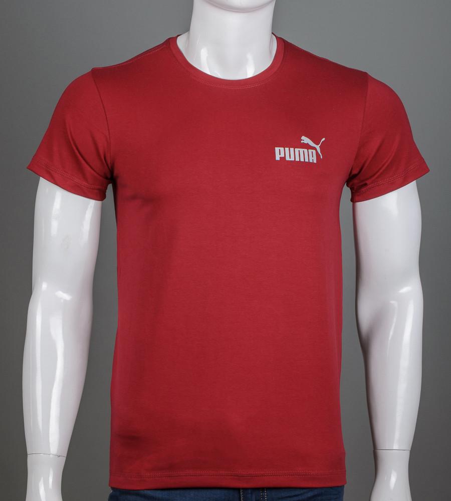 Футболка чоловіча Puma (2108м), Бордовий