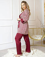 Комплект тройка пижама