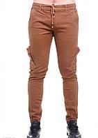 Штани ISSA PLUS 4882 27 коричневий