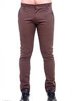 Штани ISSA PLUS 4878 28 темно-коричневий