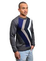 Стильный мужской свитер осень зима