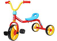 Детский трехколесный велосипед байк педальный