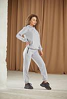 Спортивный костюм Adidas унисекс: худи и штаны весна-осень (2 пары носков в подарок) (НD-257)
