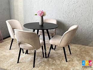 Обідній комплект: стіл Модерн і стільці Лофт M-mebel™