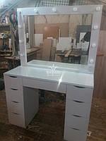 2х тумбовый стол для макияжа. Модель А124